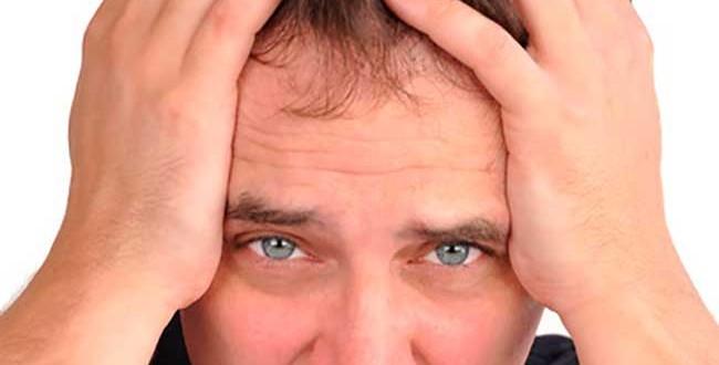 O stress e a queda de cabelo